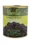 Fekete szeletelt olivabogyó (üvegben)
