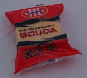 how to cut gouda cheese